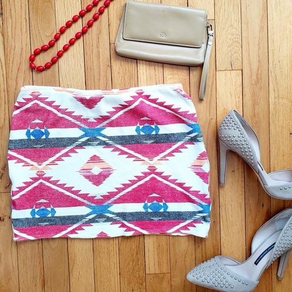 Zara Dresses & Skirts - ZARA tribal mini skirt
